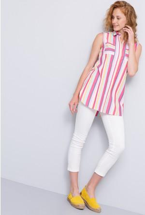 U.S. Polo Assn. Kadın Apoline Gömlek Pembe