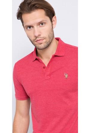 U.S. Polo Assn. Erkek Apsel Polo T-Shirt Kırmızı