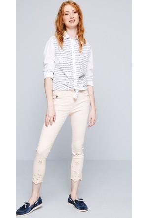 U.S. Polo Assn. Kadın Brode7Y Pantolon Pembe