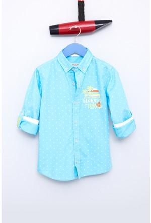 U.S. Polo Assn. Erkek Çocuk Caplinkids Gömlek Yeşil