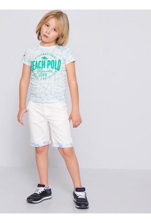 U.S. Polo Assn. Erkek Çocuk Dantekids7Y-Ing Şort Bej