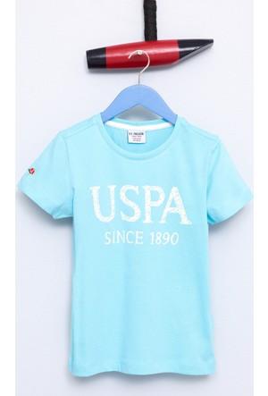 U.S. Polo Assn. Erkek Çocuk Geart T-Shirt Mavi