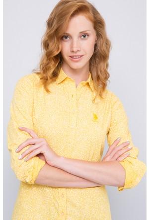 U.S. Polo Assn. Gloria Gömlek Sarı