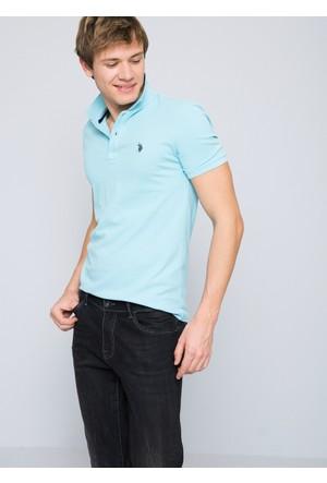 U.S. Polo Assn. Gtp04iy7 T-Shirt Mavi