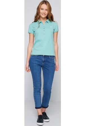 U.S. Polo Assn. Kadın Gtp-Iy07 Polo T-Shirt Mint