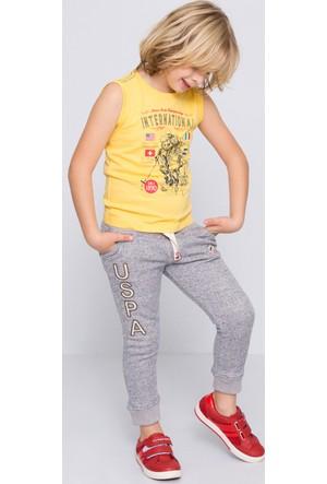 U.S. Polo Assn. Erkek Çocuk Nick T-Shirt Sarı Sarı