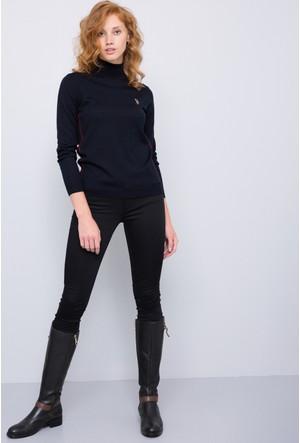 U.S. Polo Assn. Kadın Prettx7Y Pantolon Siyah