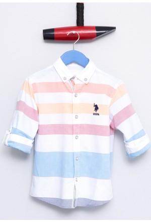 U.S. Polo Assn. Erkek Çocuk Sadykids Gömlek Mavi