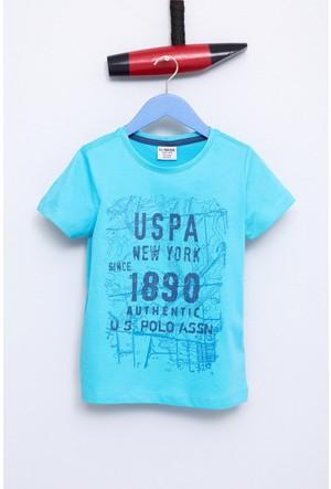 U.S. Polo Assn. Erkek Çocuk Sasori T-Shirt Yeşil