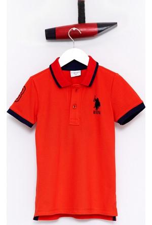 U.S. Polo Assn. Erkek Çocuk Sd01İy7 T-Shirt Kırmızı