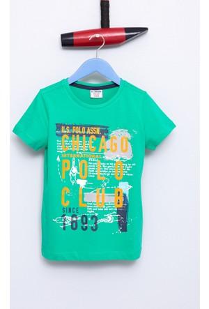 U.S. Polo Assn. Erkek Çocuk Suarez T-Shirt Yeşil