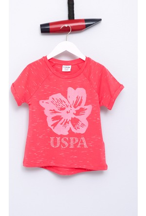 U.S. Polo Assn. Kız Çocuk Vale T-Shirt Pembe
