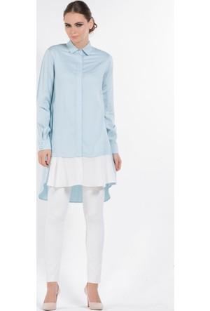 Senna Design Cotton Gömlek 2635 Mavi