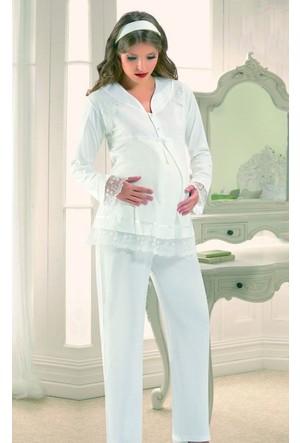 Xses Hamile Lohusa Pijama Takımı 2180