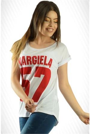 Modamla 57 Baskı Salaş T-Shirt