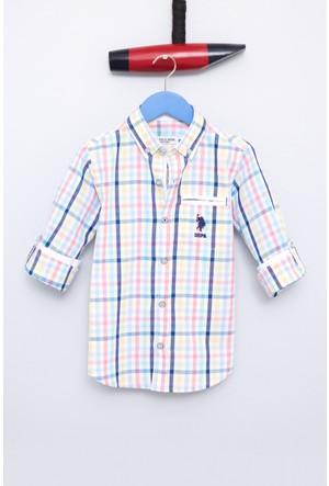 U.S Polo Assn. Brunskids Erkek Çocuk Dokuma Gömlek