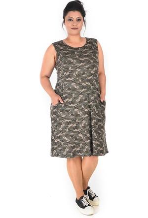 Tepa Kamuflaj College Elbise 46