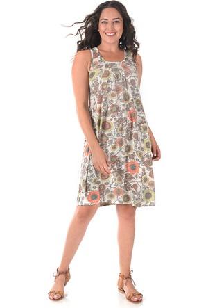 Tepa Yeşil Jasmine Elbise 48
