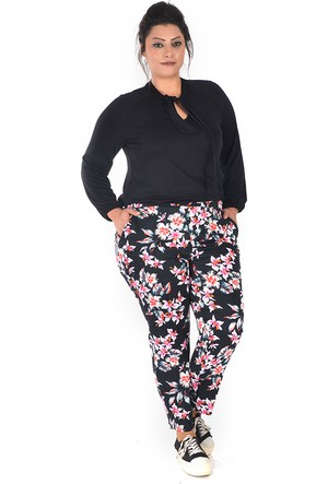 Tepa Siyah Yıldız Summer Pantolon 44
