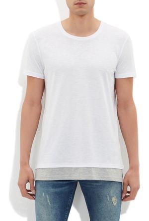 Mavi Beyaz T-Shirt