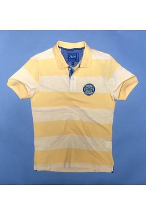 Phazz Brand Tshırt Polo Yaka 4597 Sarı
