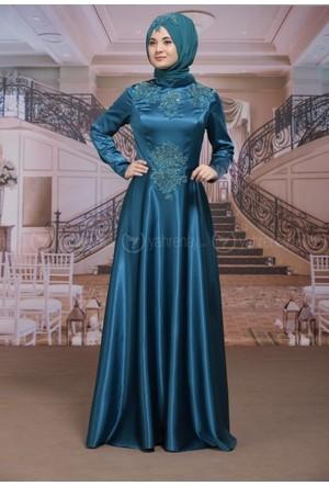 Feyza Abiye - Mavi - Sümay Moda