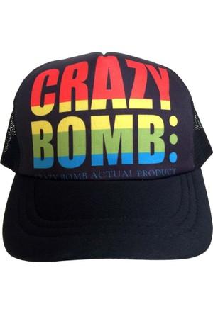 Kazandıran Outlet Crazy Bomb Fileli Şapka Kep Erkek