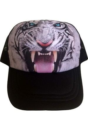 Kazandıran Outlet Kaplan Fileli Şapka Kep Erkek