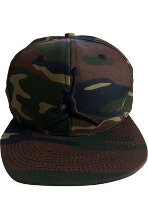 Kazandıran Outlet Erkek Jordan Kamuflaj Şapka