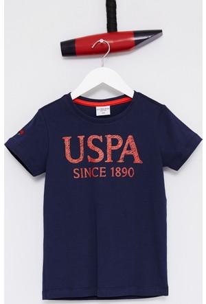 U.S. Polo Assn. Erkek Çocuk Geart T-Shirt Lacivert