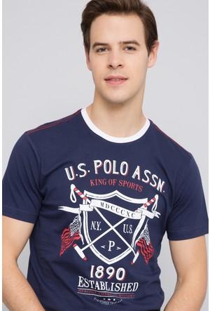 U.S. Polo Assn. Erkek Castle T-Shirt Lacivert