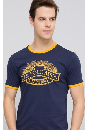 U.S. Polo Assn. Erkek Nebula T-Shirt Lacivert