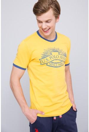 U.S. Polo Assn. Erkek Nebula T-Shirt Sarı