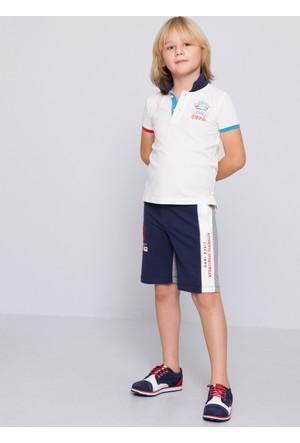 U.S. Polo Assn. Erkek Çocuk Rolf Şort Lacivert