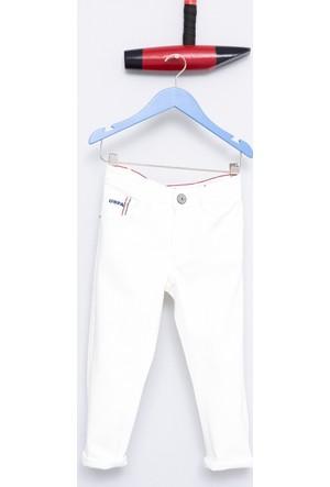U.S. Polo Assn. Erkek Çocuk Carloskids7Y-Ing Pantolon Beyaz