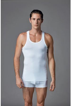 Eros Erkek 2'li Atlet Beyaz ES011501