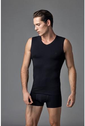 Eros Erkek 2'li Atlet Siyah ES011505