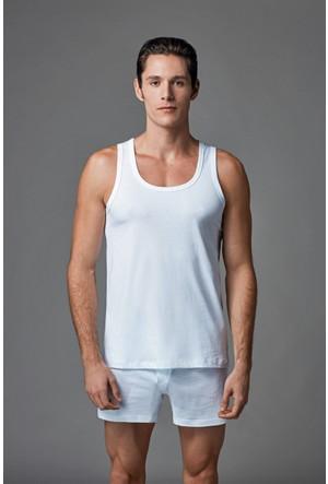 Eros Erkek 2'li Penye Atlet Beyaz ES011520