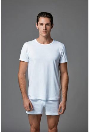 Eros Erkek 2'li Penye Atlet Beyaz ES011522