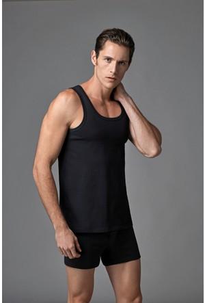 Eros Erkek 2'li Penye Atlet Siyah ES011520