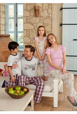 Dagi Erkek Çocuk 3'lü Pijama Takımı Gri C0216Y0010