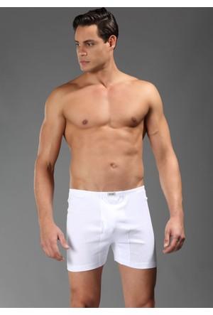 Eros Erkek Bermuda Alt Beyaz ES017Y0110