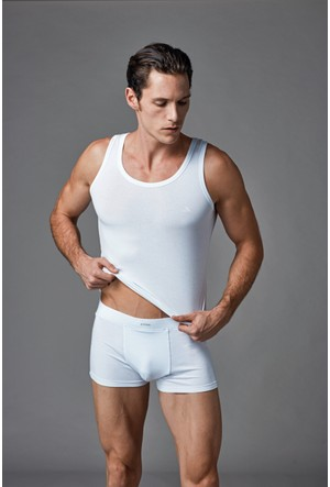 Eros Erkek Çeyiz Seti (İç Giyim Takımı) Beyaz ES011564