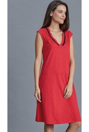Dagi Kadın Gecelik Kırmızı B0216K0150