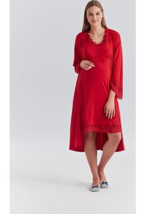 Dagi Kadın Gecelik Kırmızı B0217Y0320
