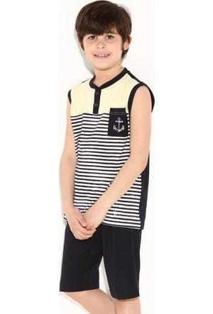 Dagi Erkek Çocuk Kapri Takımı Sarı C0215Y0018
