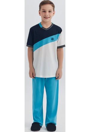 Dagi Erkek Çocuk Pijama Takımı Ekru C0217Y0060