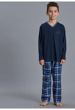 Dagi Erkek Çocuk Pijama Takımı Lacivert C0216K0050