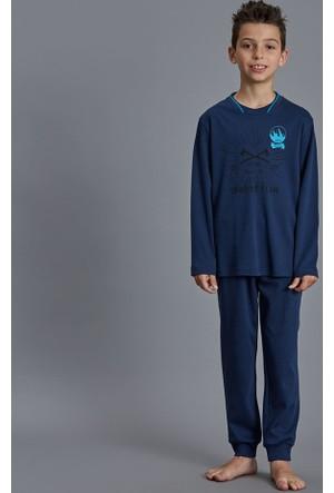 Dagi Erkek Çocuk Pijama Takımı Lacivert C0216K0150