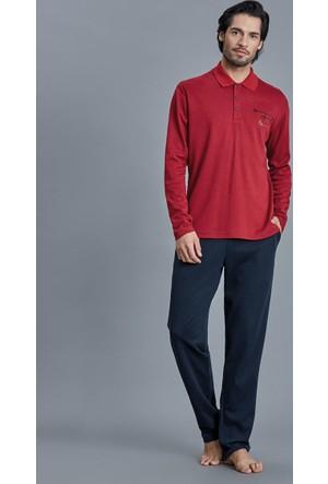 Dagi Erkek Pijama Takımı Kırmızı E0216K0720